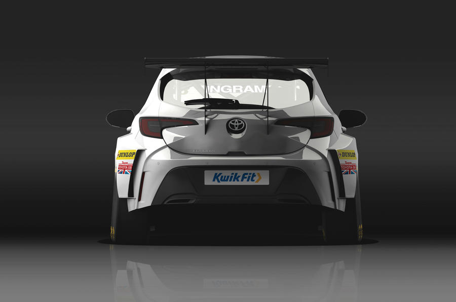 The race car's power will come from a 2.0-litre petrol engine