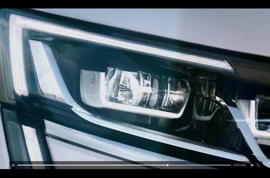 Renault Koleos teaser