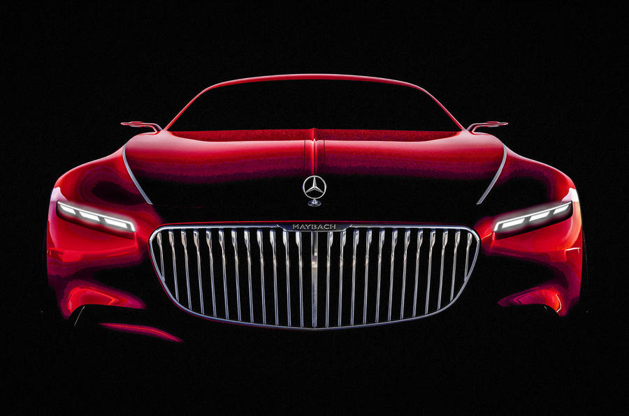 Vision Mercedes Maybach 6 Pictures Leaked Ahead Of Reveal