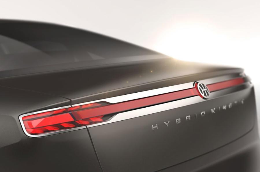 Pininfarina H600 concept previewed before Geneva