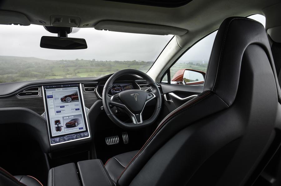 Tesla Model S 70D interior