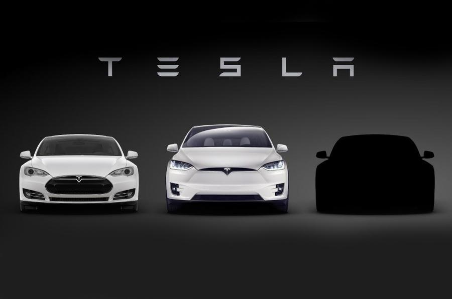 Tesla Model 3 tease
