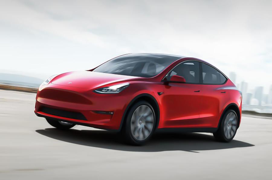 Seven Seat Tesla Model Y Revealed With 300 Mile Range
