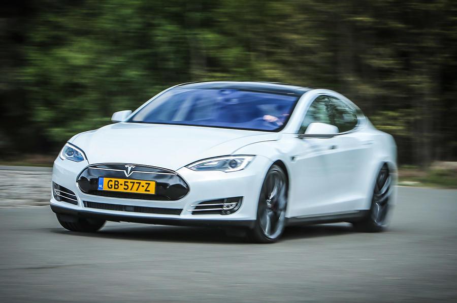 155mph Tesla Model S P85D
