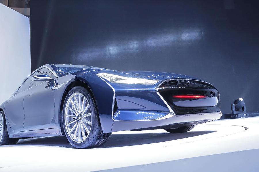 Used BMW I3 >> Youxia Ranger X - China's Tesla Model S copycat revealed ...