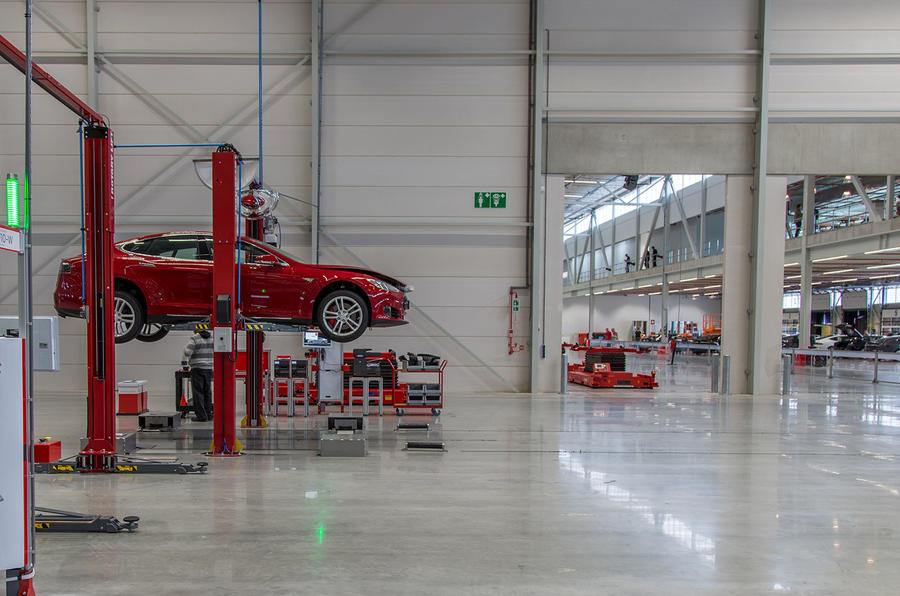 Mercedes Benz Fremont >> Tesla opens new Dutch factory | Autocar