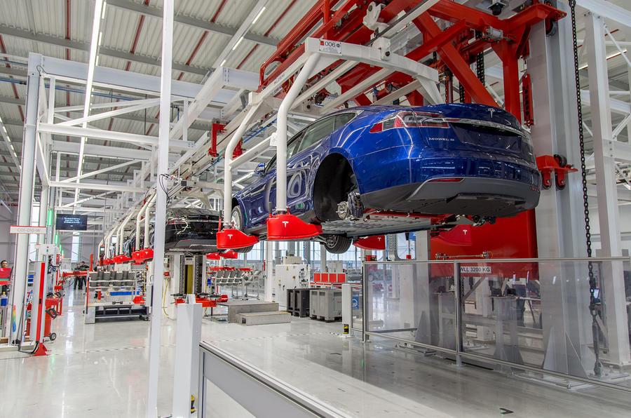 Fremont Car Dealers >> Tesla opens new Dutch factory | Autocar
