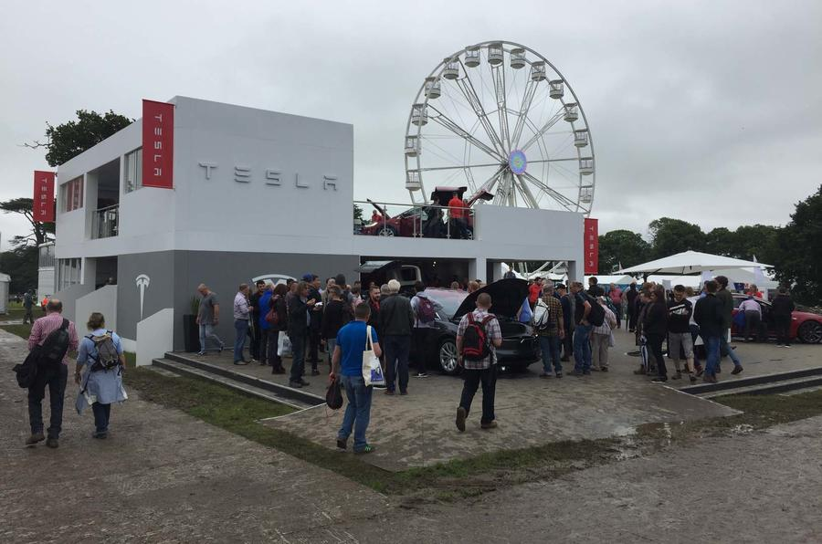 Tesla at Goodwood Festival of Speed