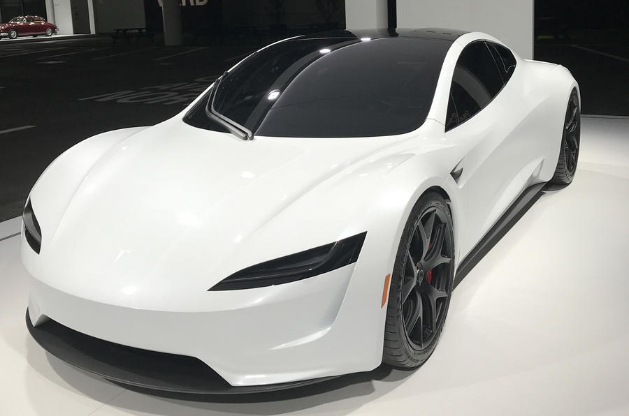 New Tesla Roadster has first European showing at Grand Basel