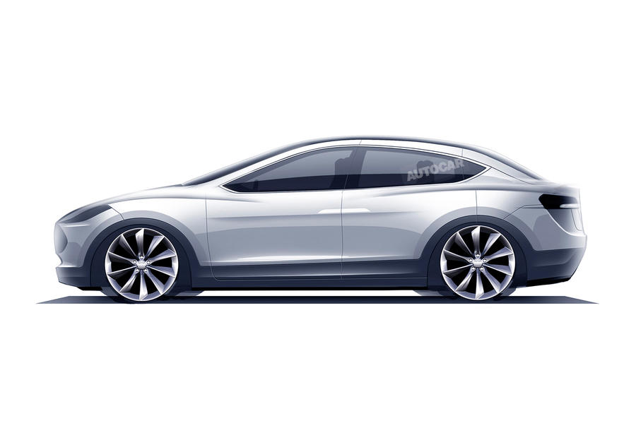 tesla model 3 to be revealed autocar. Black Bedroom Furniture Sets. Home Design Ideas