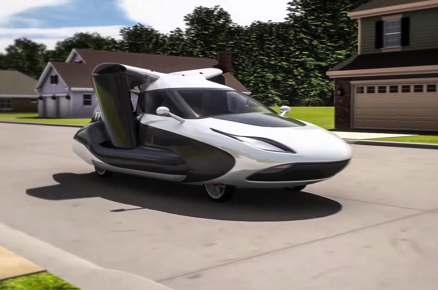 New Terrafugia TF-X flying car revealed | Autocar