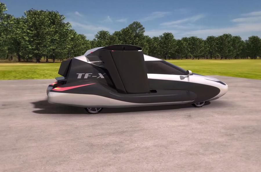 Terrafugia Tf X Flying Car Price