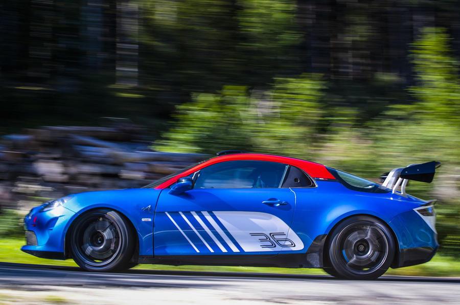 2020 Alpine A110 Rally - cornering side