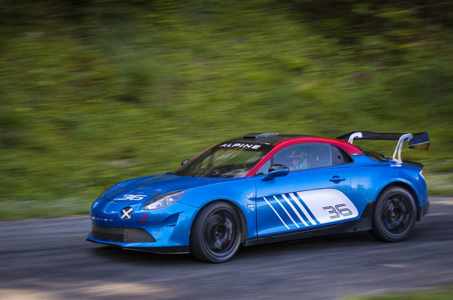 Alpine readies rally-spec A110 for global competition