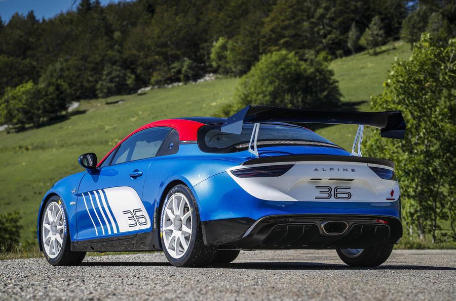 2020 Alpine A110 Rally - static rear