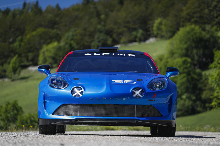 2020 Alpine A110 Rally - static front
