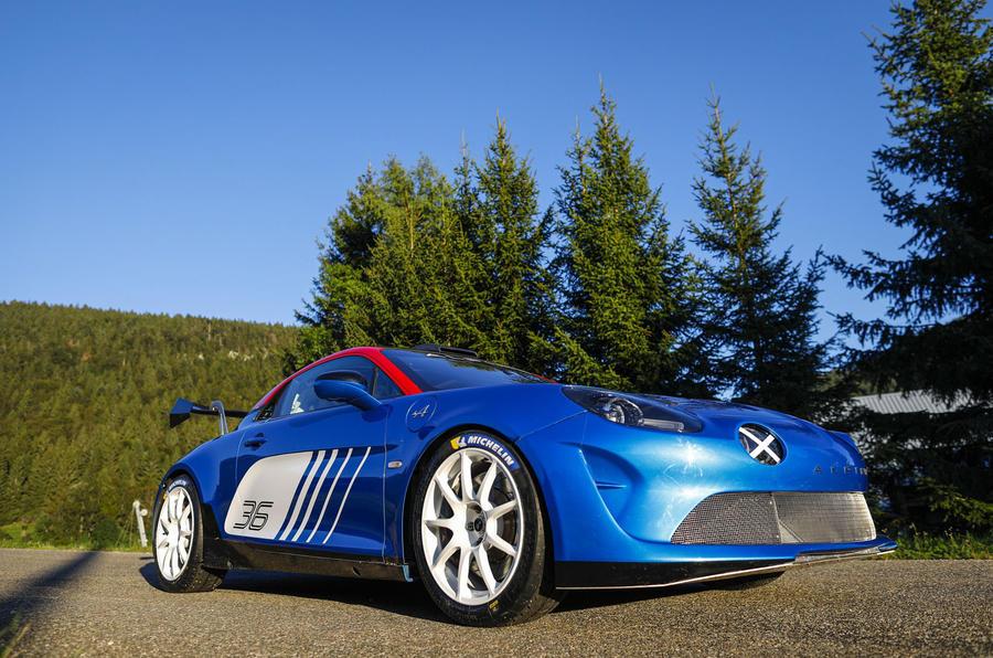 2020 Alpine A110 Rally - static side