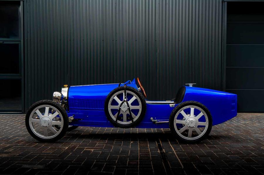 Bugatti Baby II side
