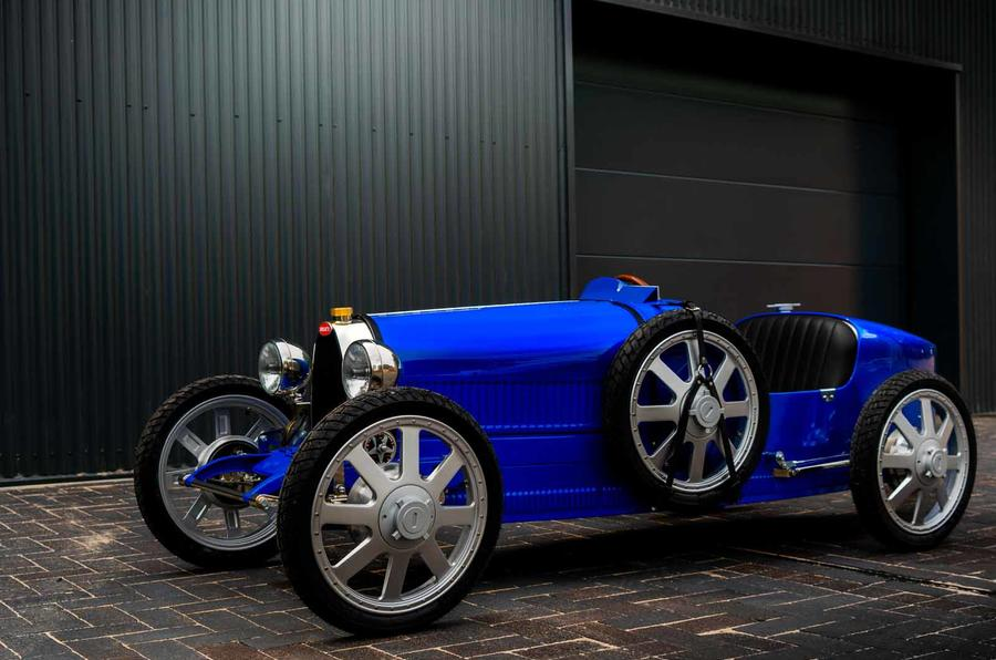 Bugatti Baby II front side