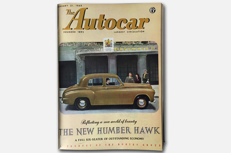 Autocar's boot appraisal appeared in the 21 January 1949 issue