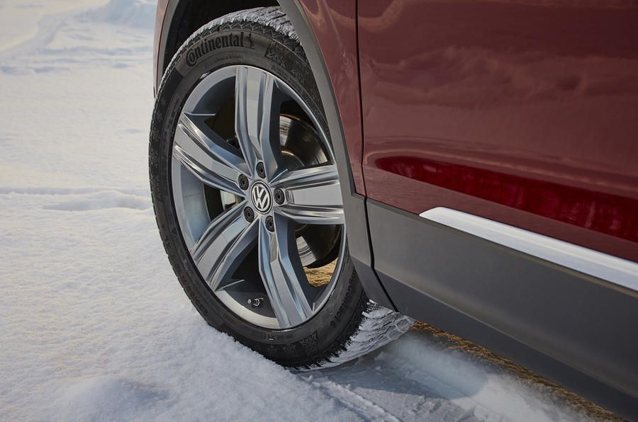 17in Volkswagen Tiguan alloys