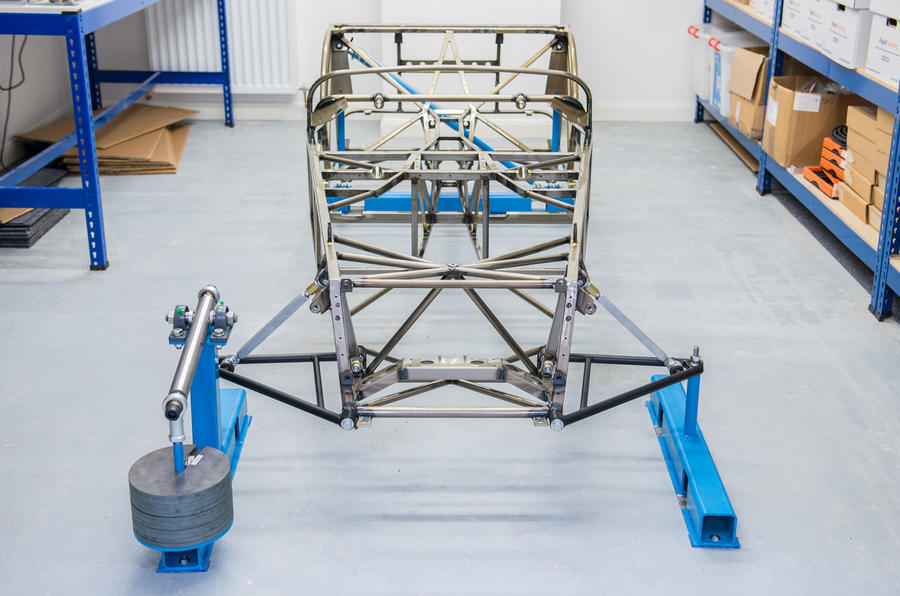 Caterham Seven butted tubing
