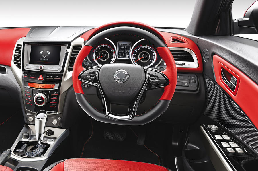 The Ssangyong Tivoli features plenty of accessible technology