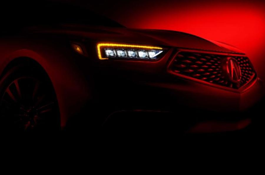 2017 Acura TLX preview image