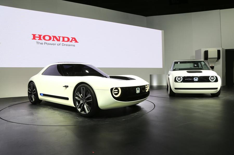 Honda Sports EV and Urban EV concepts
