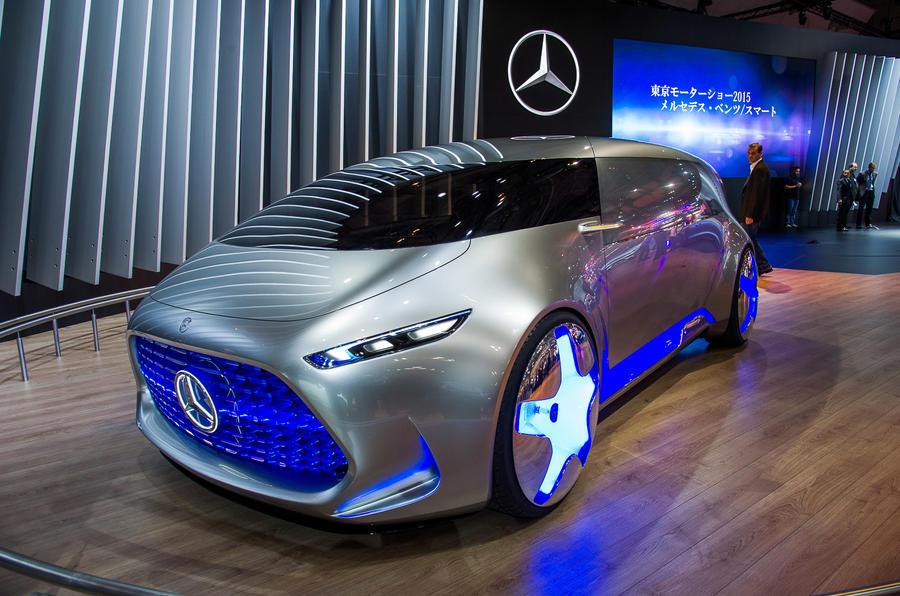 Mercedes Benz Vision Tokyo Concept Revealed Autocar