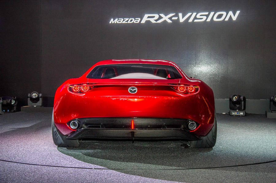 Mazda Rx Vision Rotary Engined Sports Car Concept Revealed Autocar