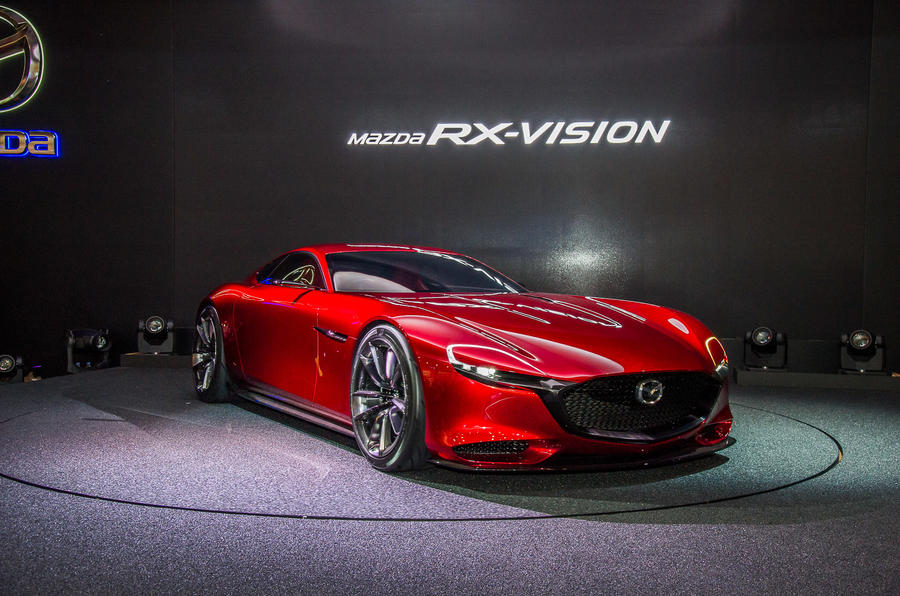 Good Mazda RX Vision Rotary Engined Sports Car Concept Revealed