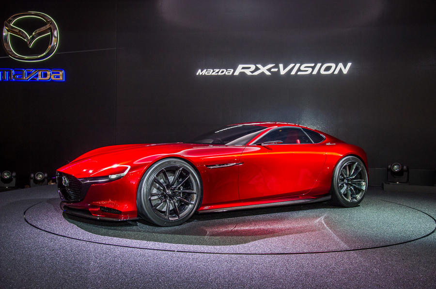 Attractive Mazda RX Vision Rotary Engined Sports Car Concept Revealed | Autocar