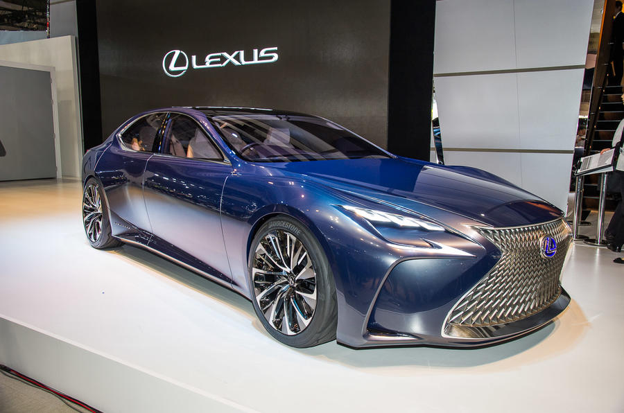 New Lexus Lf Fc Fuel Cell Concept To Go On Sale Before