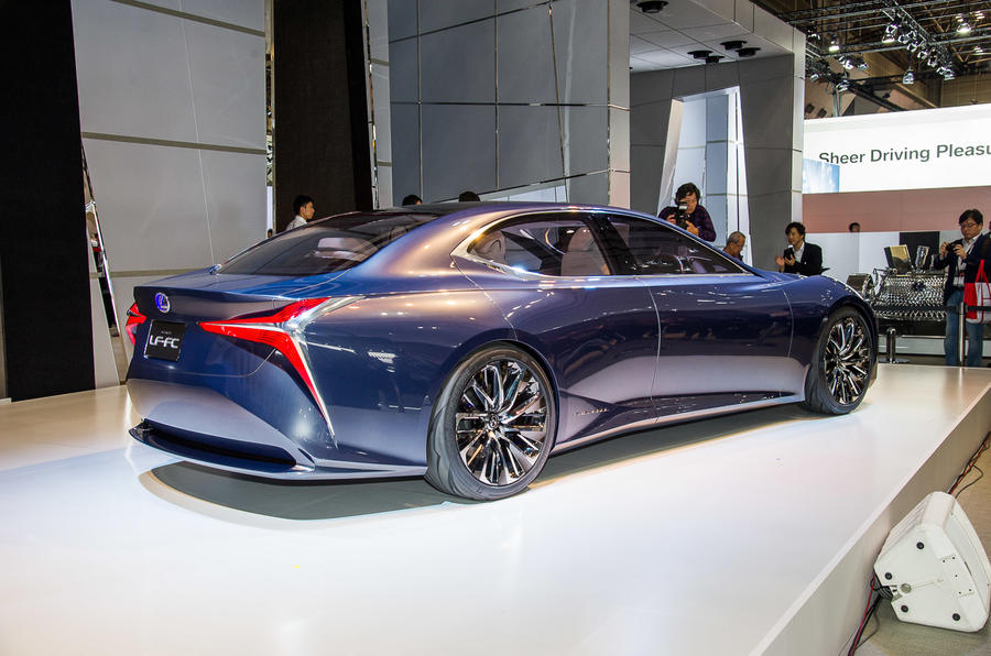 New Lexus LF-FC fuel cell concept to go on sale before ...