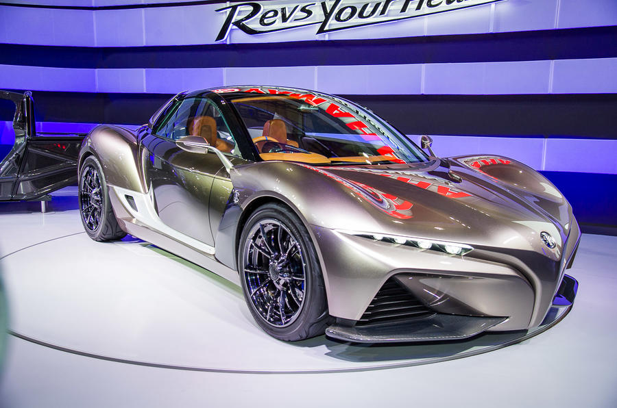 Yamaha Sports Car Revealed At Tokyo Motor Show Autocar - Sports car shows near me