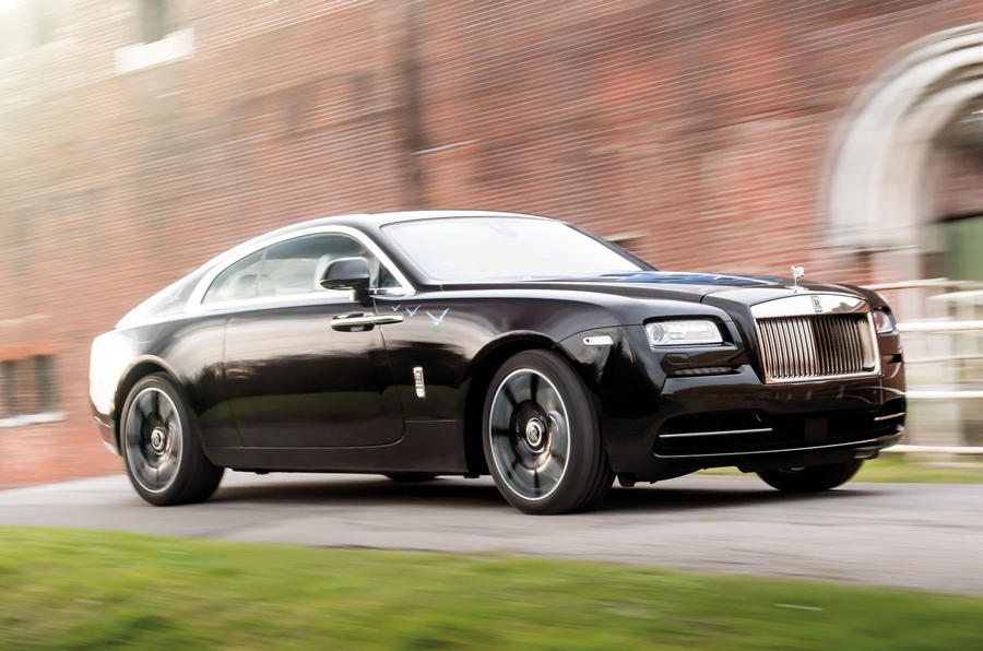 Rock 'n' Roller: Rolls-Royce Wraith 'Inspired by British Music' specials revealed