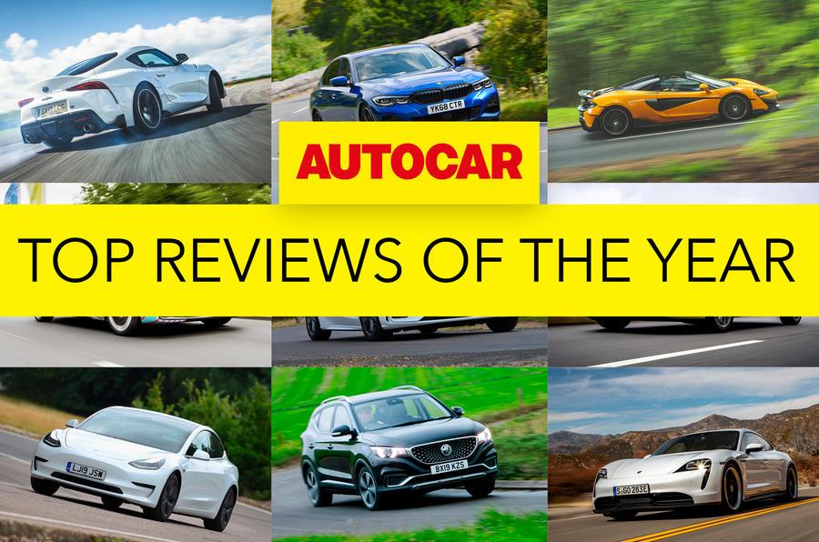Autocar's top 10 reviews of 2019
