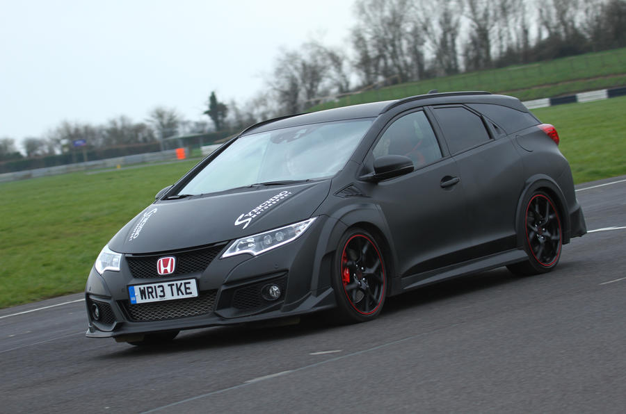 Synchro Motorsport reveals one-off Honda Civic Tourer Type ...