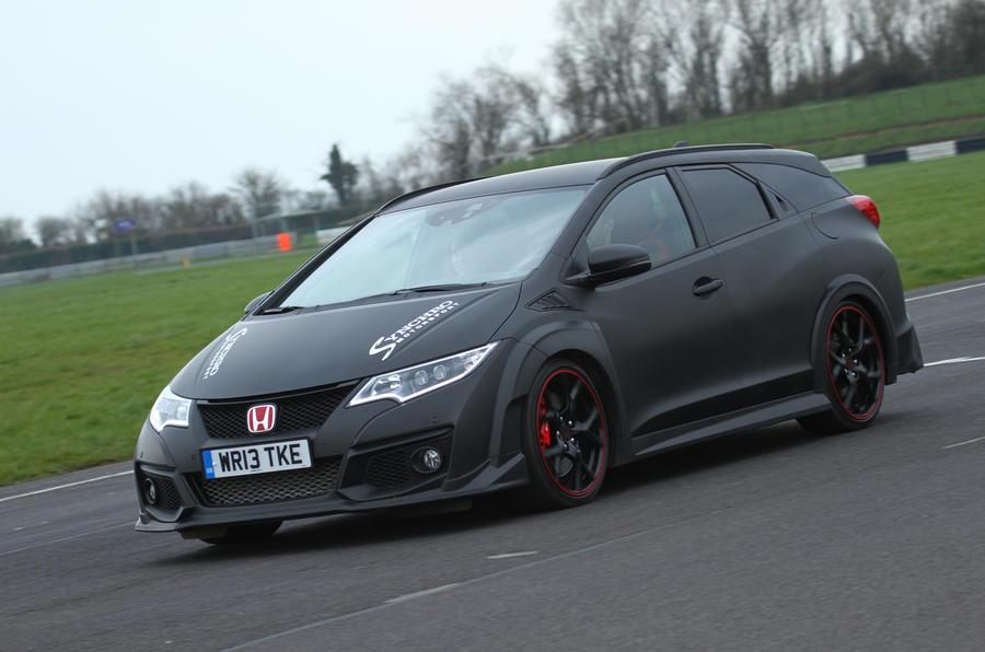 Synchro Motorsport reveals one-off Honda Civic Tourer Type ...