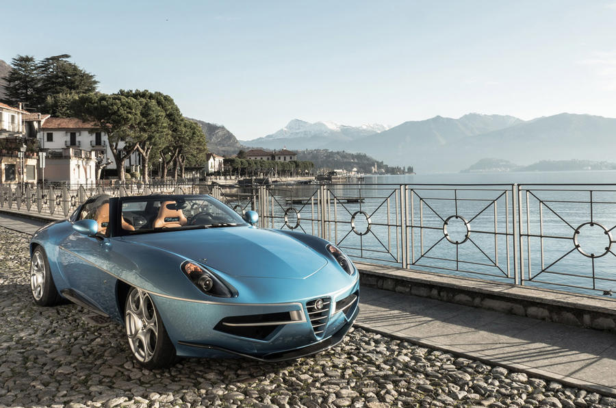 Touring Superleggera Disco Volante Spyder