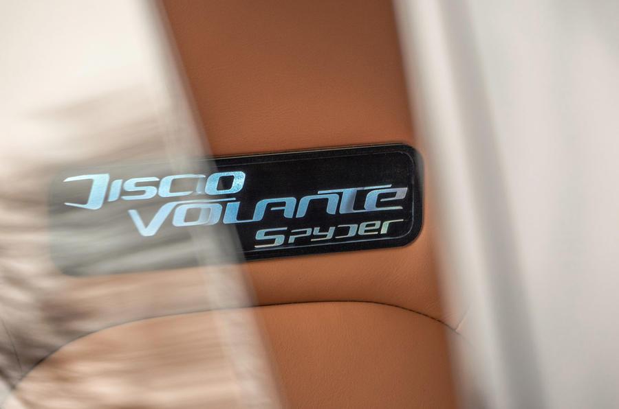 Touring Superleggera Disco Volante Spyder