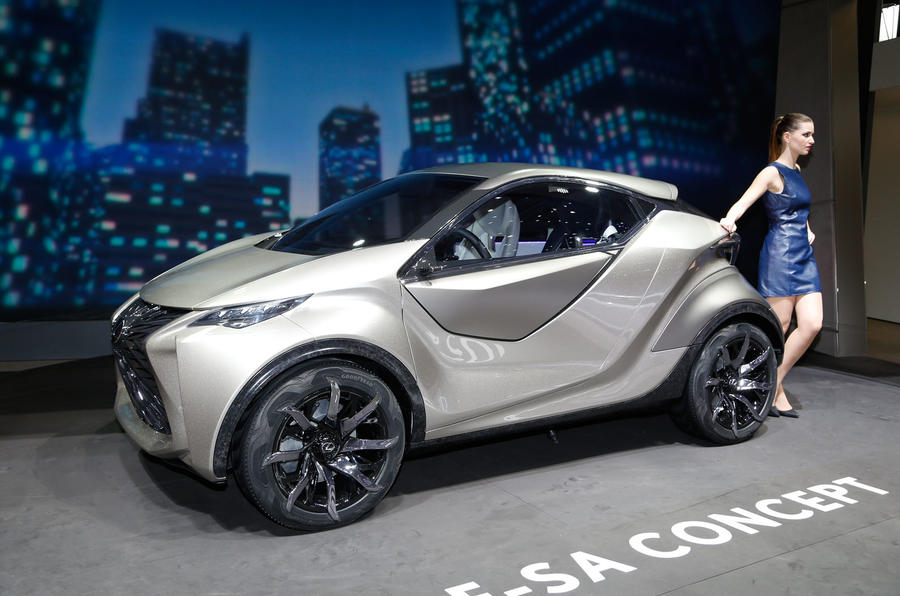 lexus lf-sa city car concept revealed at geneva   autocar