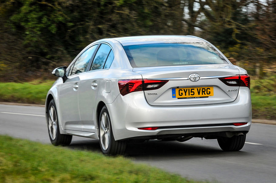 124mph Toyota Avensis Business Edition