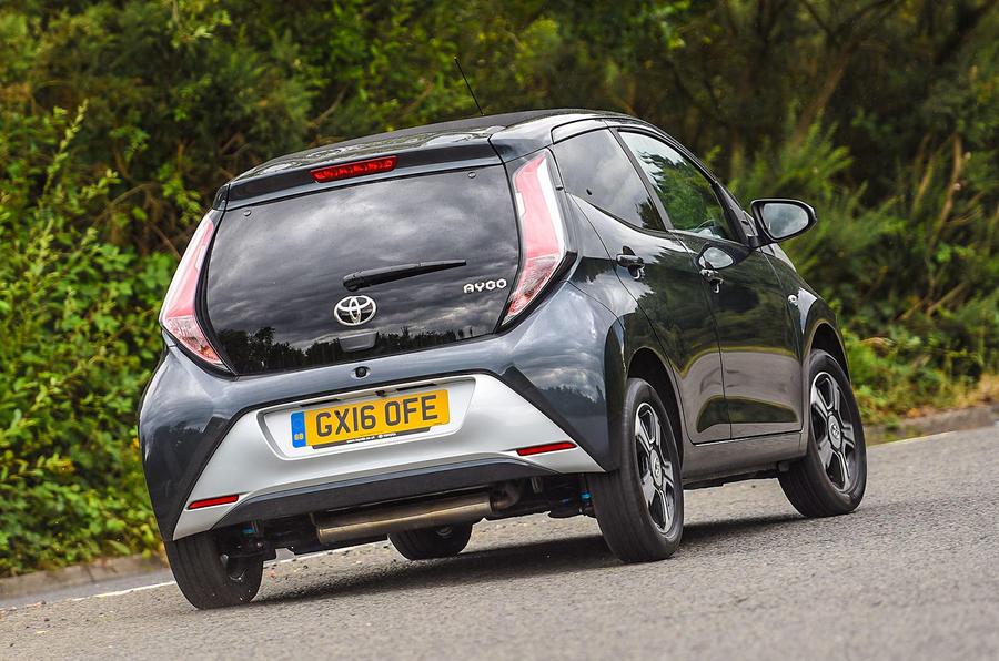 Toyota Aygo X-clusiv rear