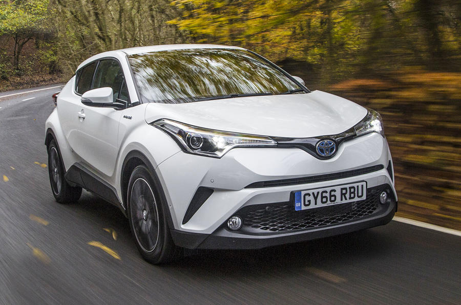 2017 Toyota C-HR Hybrid Excel Review