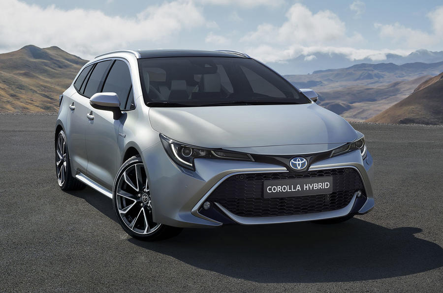 toyota corolla touring sports revealed at paris motor show autocar. Black Bedroom Furniture Sets. Home Design Ideas