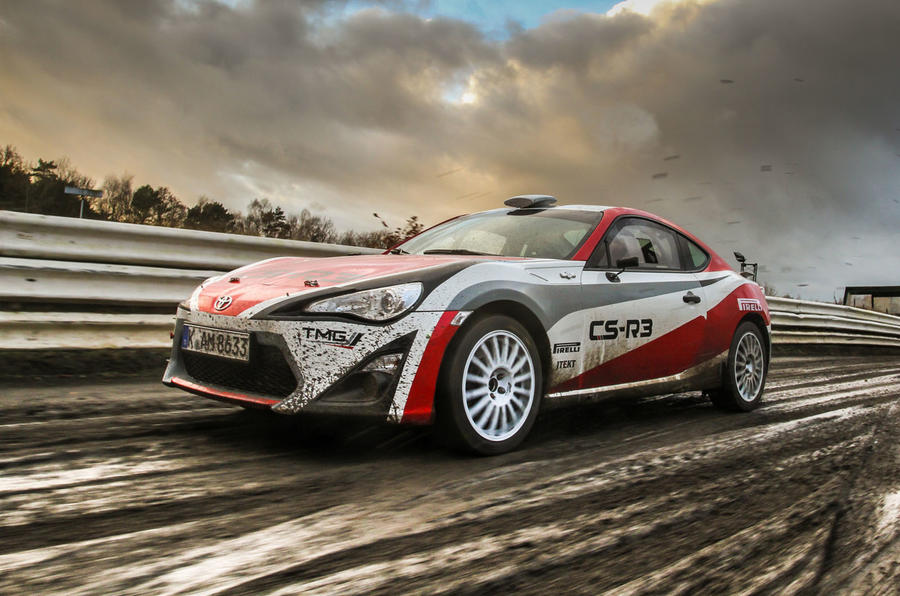 Driving Toyota\'s GT86 rally car - picture special | Autocar