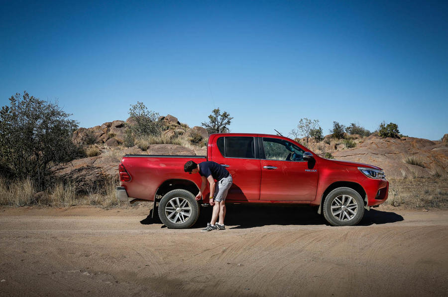 2016 Toyota Hilux Vs The Sand Dunes Of Namibia Autocar