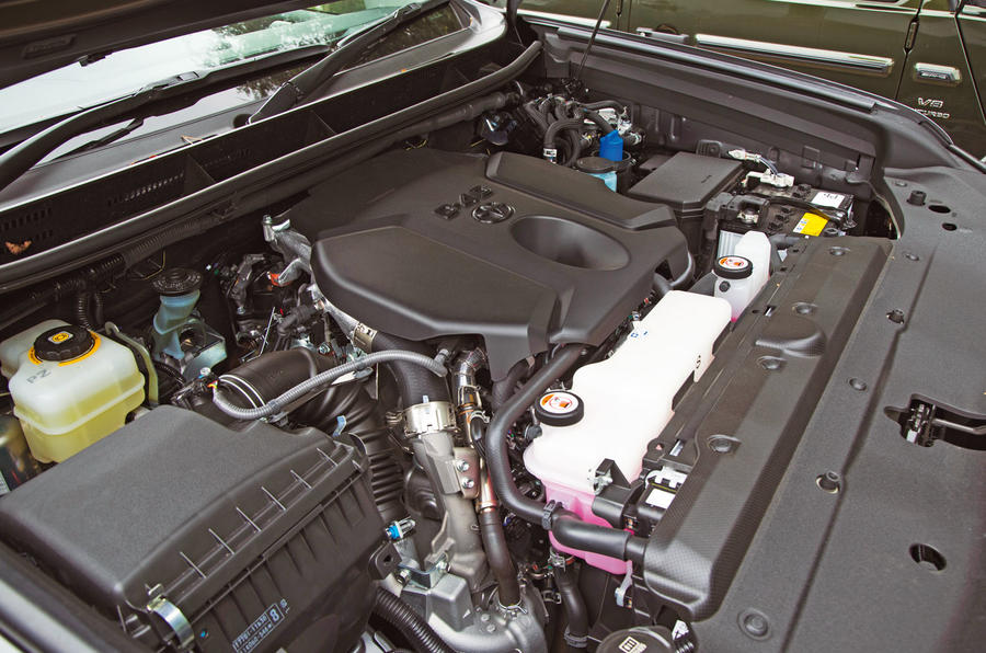 Toyota Land Cruiser Utility 3dr 2018 long-term review - engine